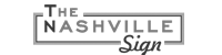 The Nashville Sign logo