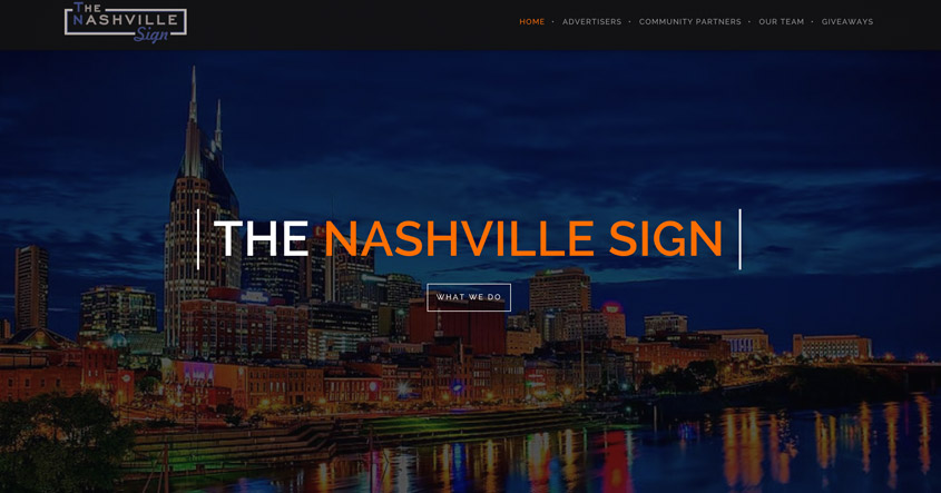 The Nashville Sign