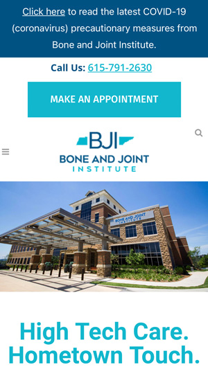 Bone Joint Institute of Tennessee